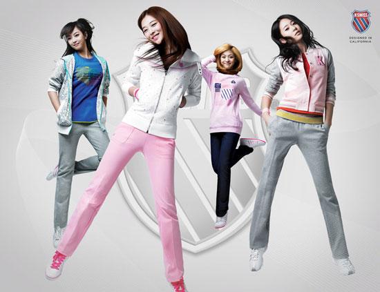 f(x) Korea K-Swiss sportswear