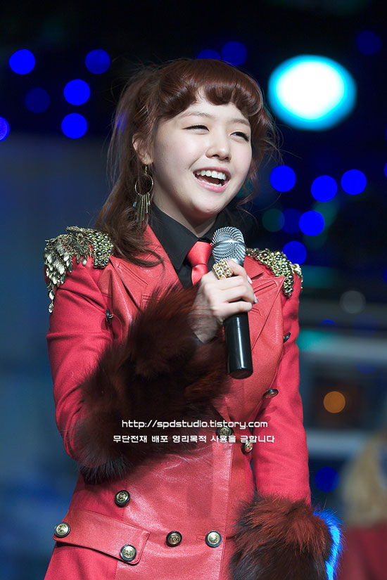 Girls Day Minah Twinkle showcase