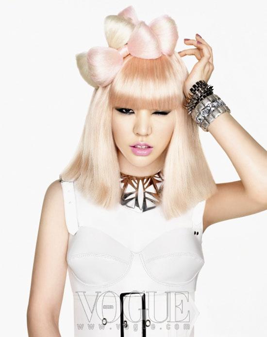 Girls Generation Sunny Gaga look on Vogue Korea