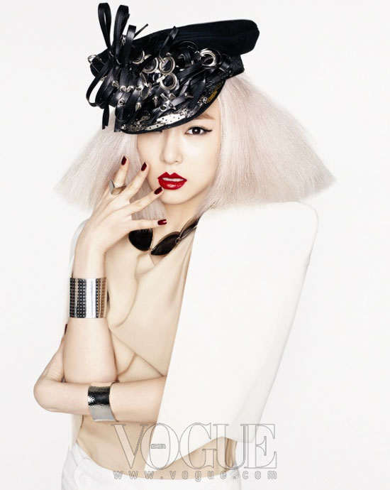 Girls Generation Tiffany Gaga look on Vogue Korea