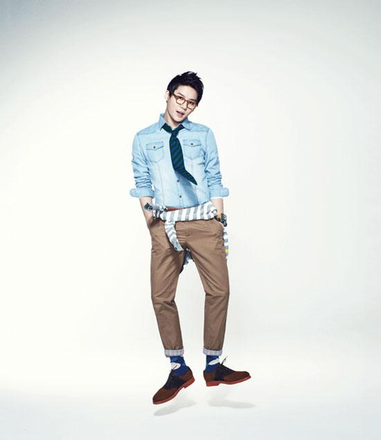 JYJ Junsu for NII fashion