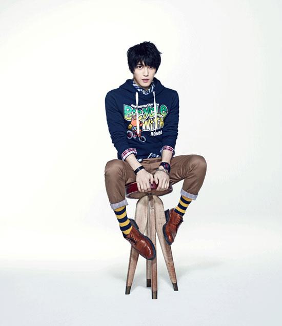 JYJ Jaejoong for NII fashion