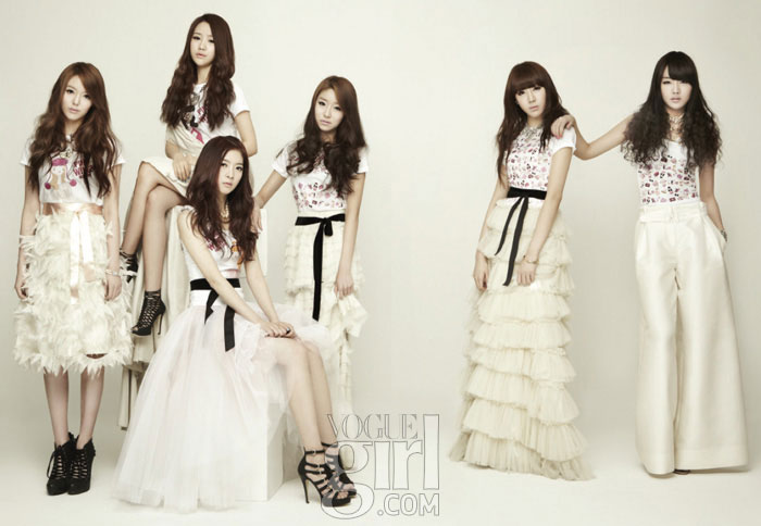 Dal Shabet Vogue Girl Pink Wings 2011