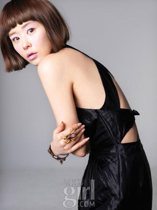 Choi Kang-hee Vogue Girl Pink Wings 2011