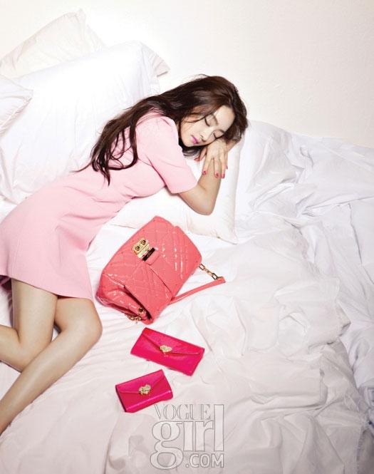 Seo Hyo-rim Vogue Girl Pink Wings 2011