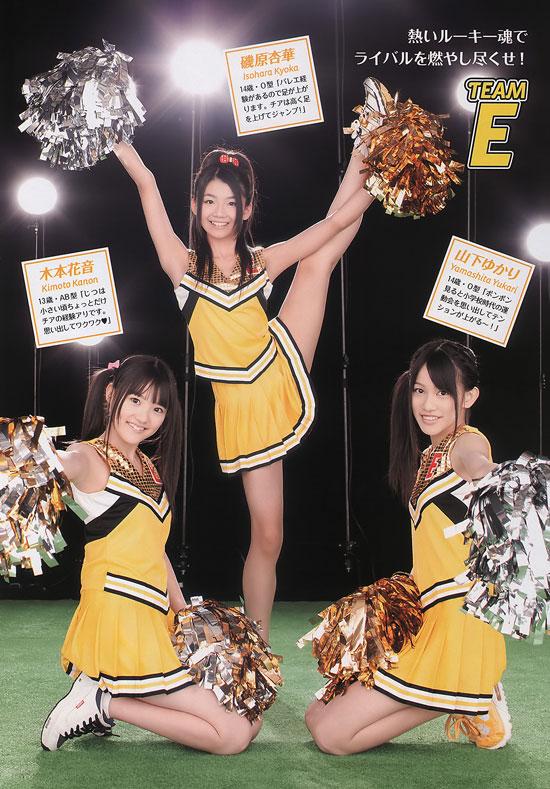 SKE48 Kanon Kimoto, Kyoka Isohara and Yukari Yamashita