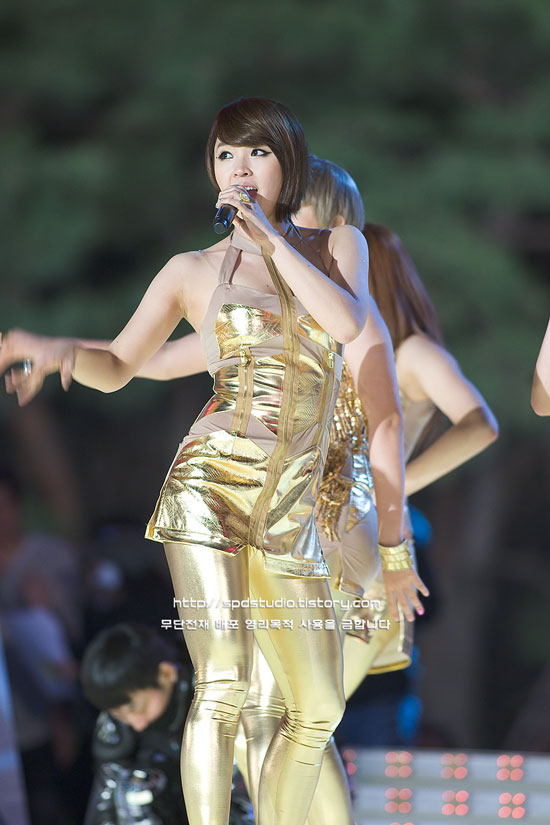 4minute Jiyoon at Hope to Children concert