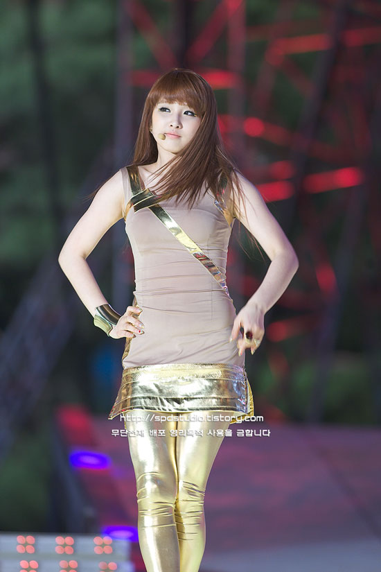 4minute Jihyun at Hope to Children concert