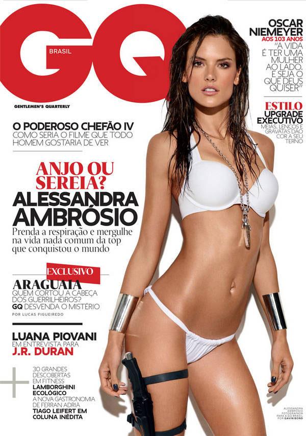 Supermodel Alessandra Ambrosio GQ Brazil