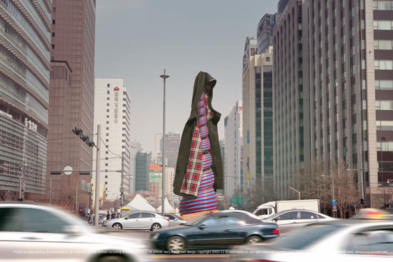 Brownbreath Seoul City fashion collection
