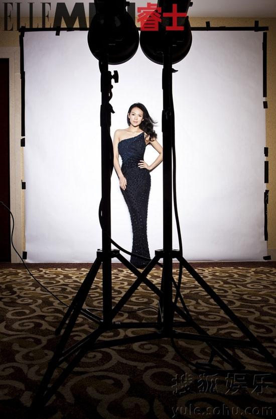 Zhang Ziyi Chinese Elle Men Magazine