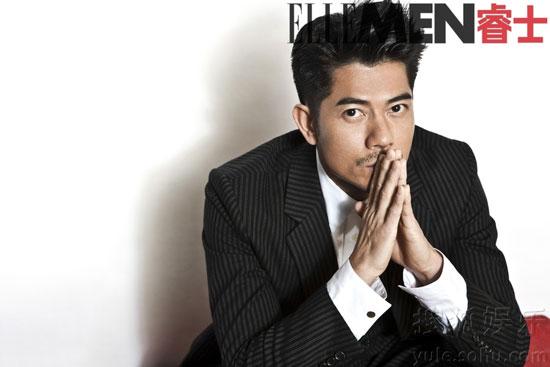 Aaron Kwok Chinese Elle Men Magazine