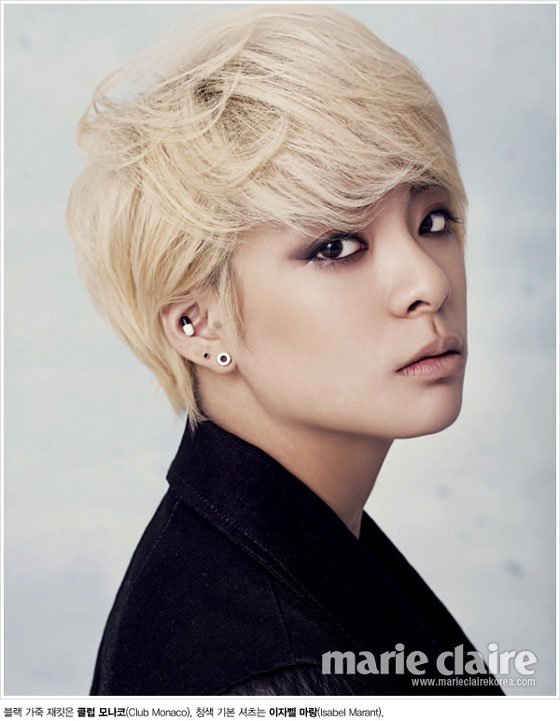f(x) Amber Marie Claire Korea