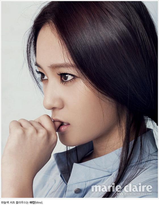 f(x) Krystal Marie Claire Korea