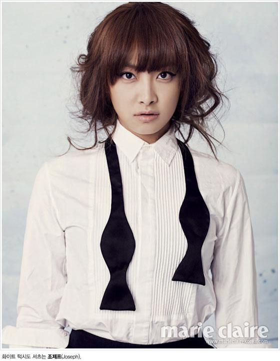 f(x) Victoria Marie Claire Korea