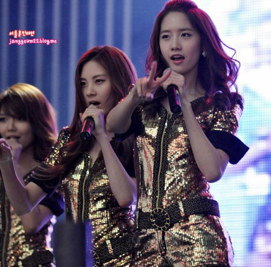 Girls Generation Yoona Angel Price Music Festival