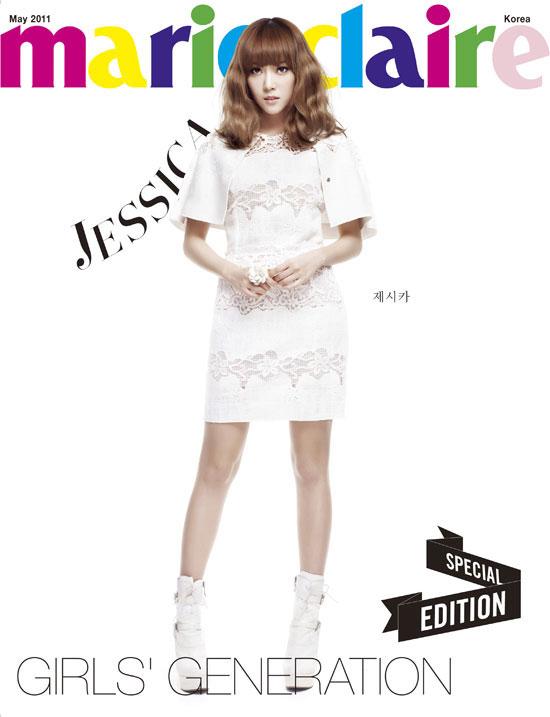 Girls Generation Jessica Marie Claire magazine