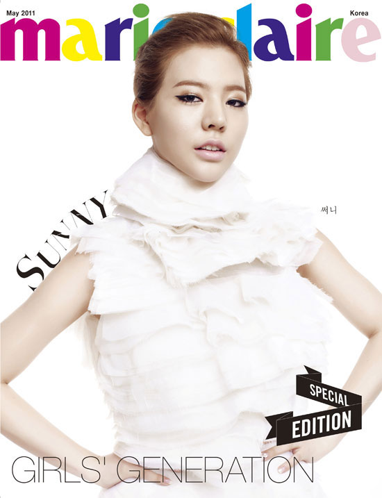 Girls Generation Sunny Marie Claire magazine