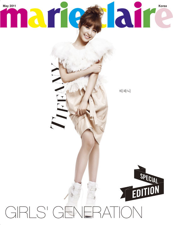 Girls Generation Tiffany Marie Claire magazine