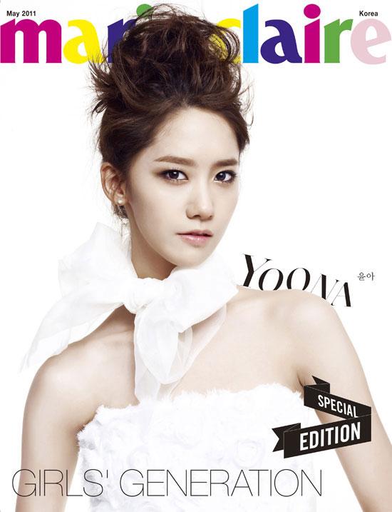 Girls Generation Yoona Marie Claire magazine