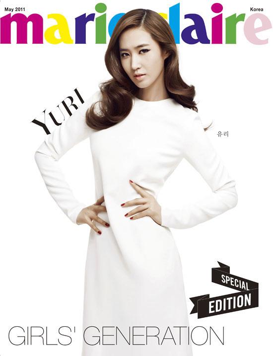 Girls Generation Yuri Marie Claire magazine