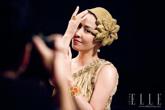Carina Lau Hong Kong Film Awards 2011 Elle photoshoot