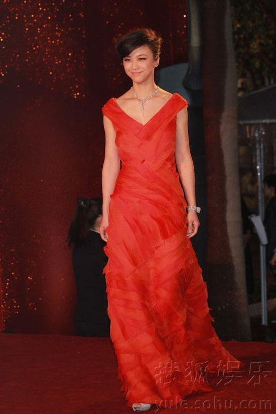 Tang Wei at Hong Kong Film Awards 2011