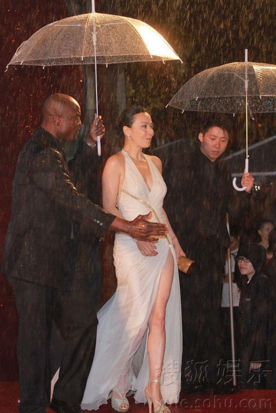 Carina Lau at Hong Kong Film Awards 2011