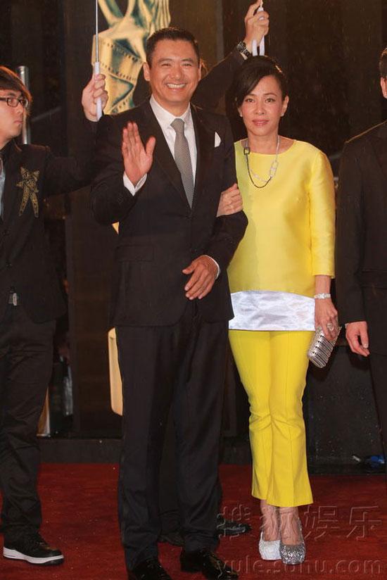 Chow Yun Fat at Hong Kong Film Awards 2011