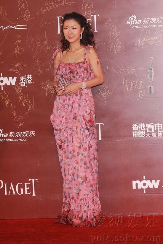 Fiona Sit at Hong Kong Film Awards 2011