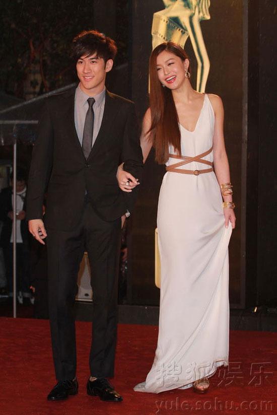 Aarif Lee and Janice Man at Hong Kong Film Awards 2011