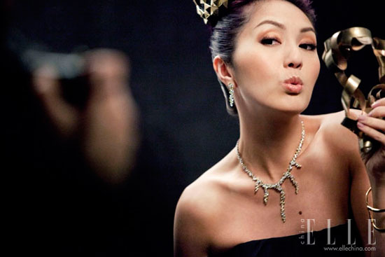 Miriam Yeung Hong Kong Film Awards 2011 Elle photoshoot