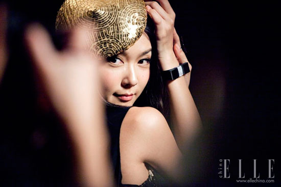 Fiona Sit Hong Kong Film Awards 2011 Elle photoshoot