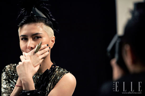 Josie Ho Hong Kong Film Awards 2011 Elle photoshoot