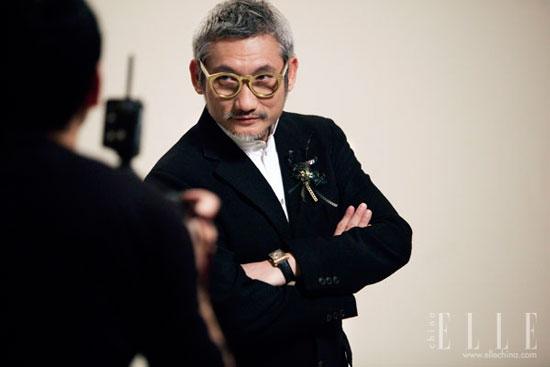 Tsui Hark Hong Kong Film Awards 2011 Elle photoshoot