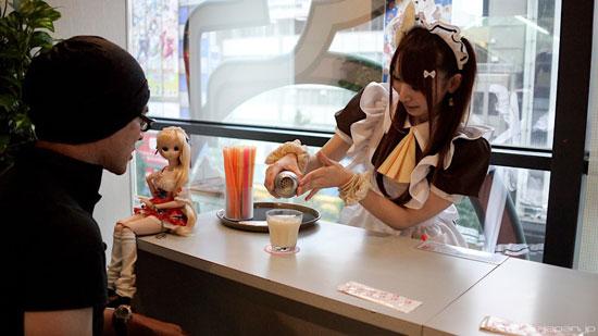 At Home Maid Cafe, Tokyo, Japan