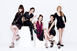Korean pop group KARA