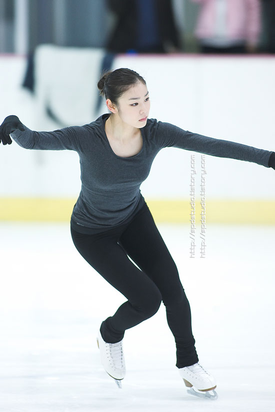 Korean figure skater Kim Yuna