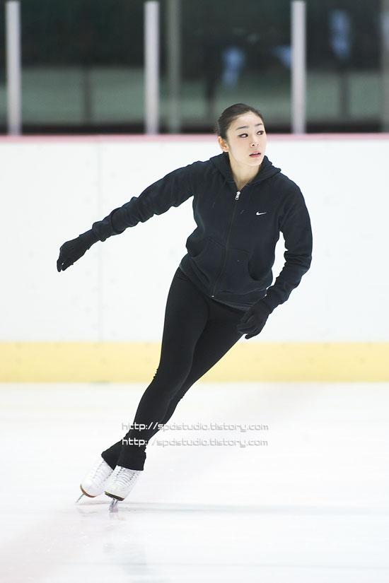 Korean figure skater Kim Yuna