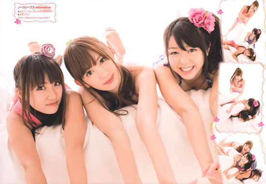 AKB48-no3b on Weekly Shonen Champion magazine