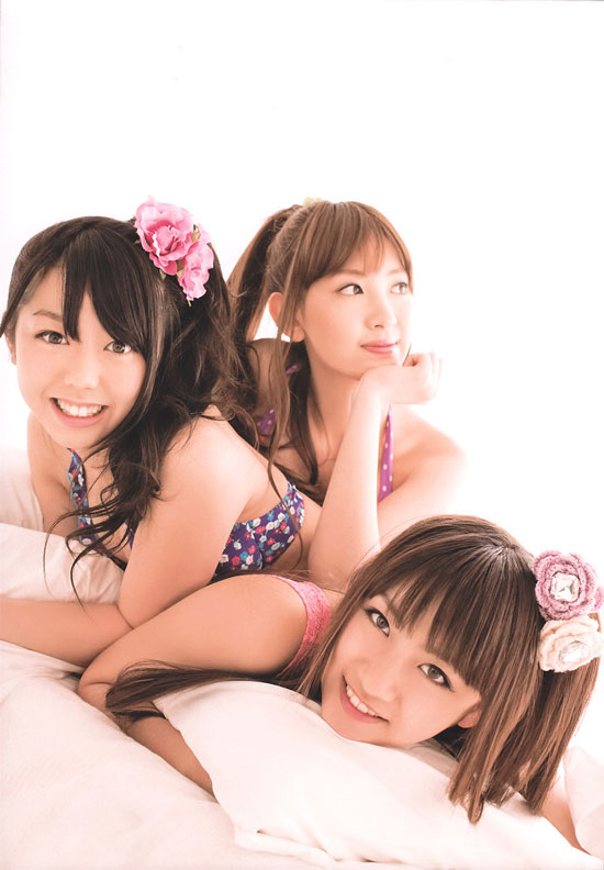 AKB48-no3b on Weekly Shonen Champion magazine
