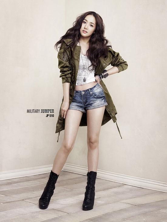 Park Min-young Buckaroo Jeans