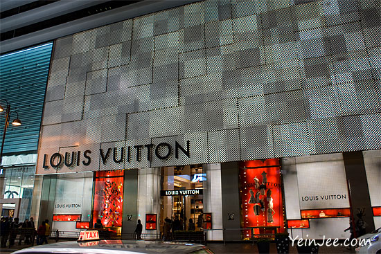 Hong Kong Canton Road Louis Vuitton flagship store