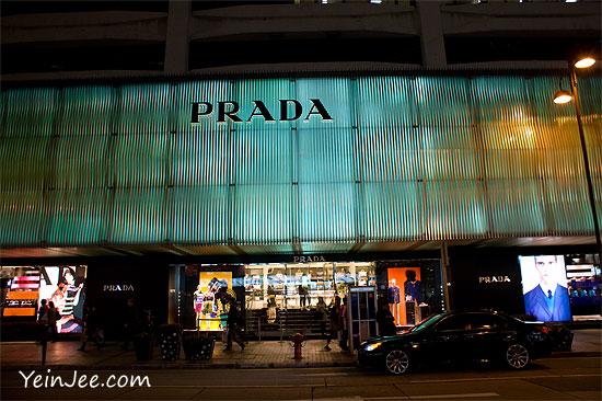 Hong Kong Canton Road Prada flagship store