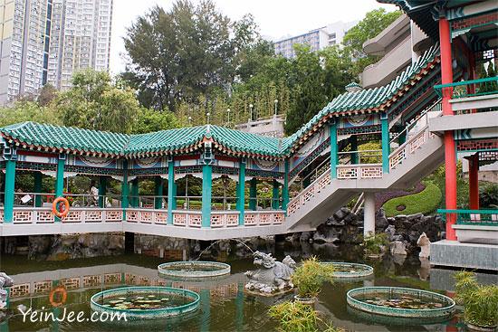 Hong Kong Wong Tai Sin Temple garden