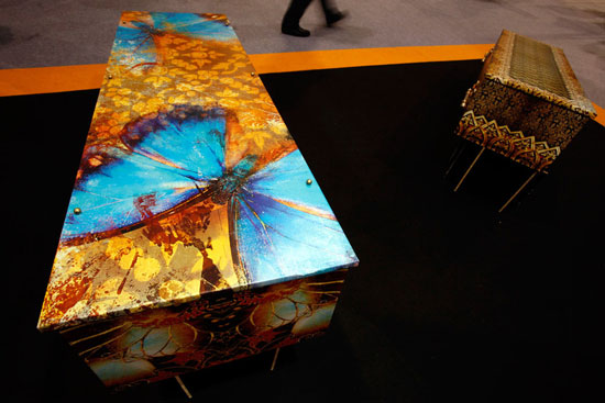 Australian coffins at Asian Funeral Expo