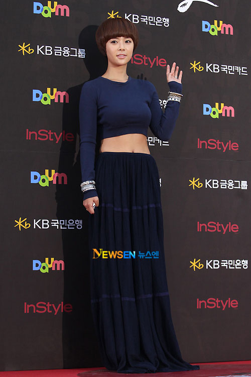 Hwang Jung-eum Baeksang Awards 2011