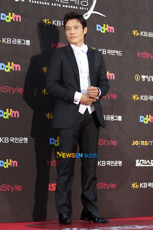 Lee Byung-hun Baeksang Awards 2011