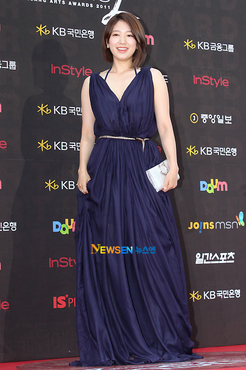 Park Shin-hye Baeksang Awards 2011
