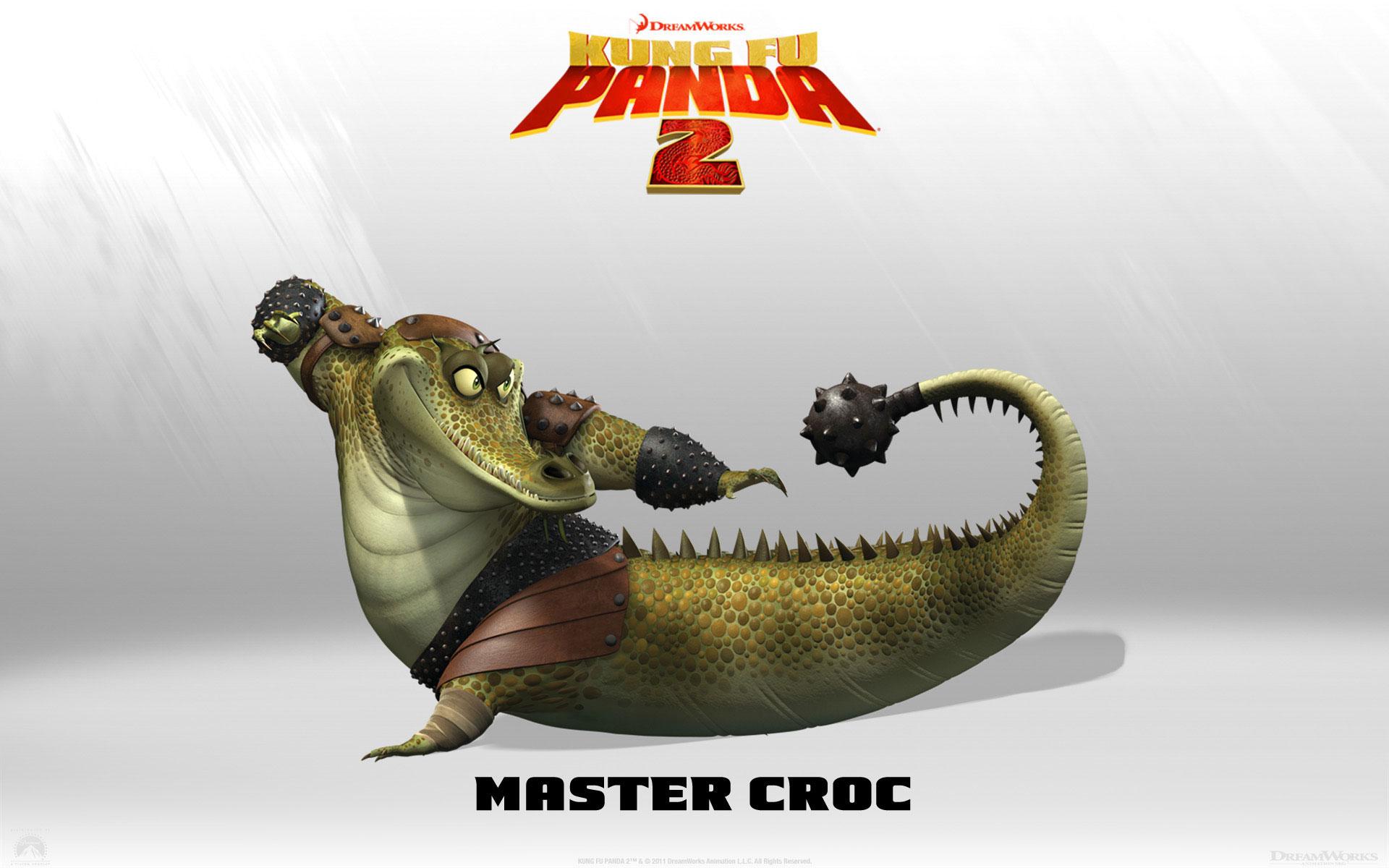 Kung Fu Panda 2 Master Croc wallpaper